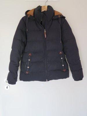 Aigle Down Jacket black-dark blue