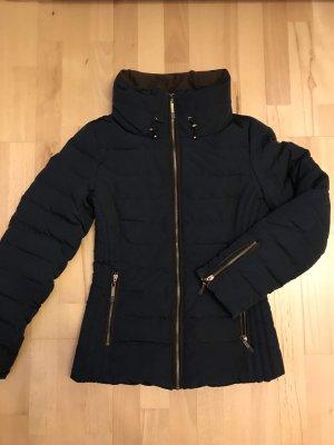 Esprit Doudoune bleu foncé-brun noir