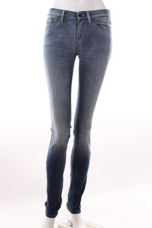 Dunkelblaue Denham Skinny Jeans