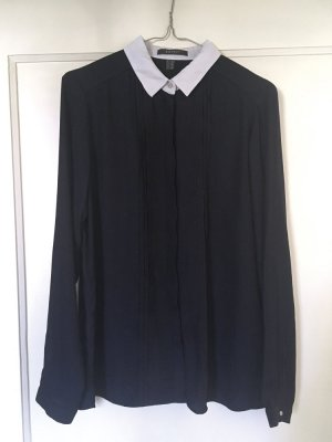 Dunkelblaue ESPRIT-Bluse