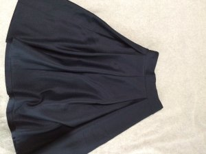 Plaid Skirt dark blue