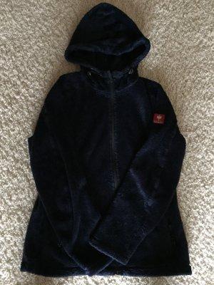 Dunkelblaue Fleece Jacke von Engelbert Strauss Größe M