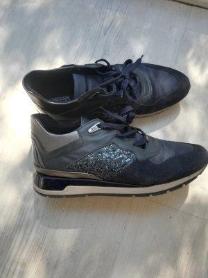 Dunkelblaue Geox Respira Sneaker