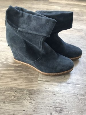 5th Avenue Heel Boots dark blue