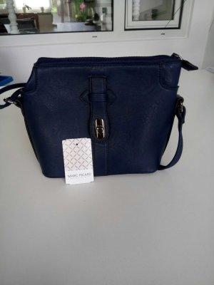 Dunkelblaue Handtasche