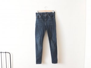 dunkelblaue high waist Mango Jeans Gr. 40 stretch skinny slim fit