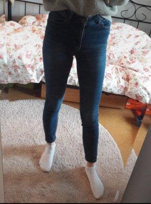 Dunkelblaue hight waist Skinny Jeans