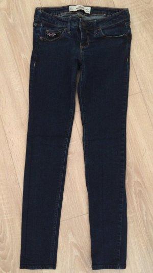 Dunkelblaue Hollister Jeans - W24/L29