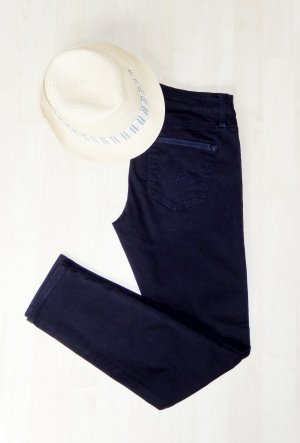 edc by Esprit Pantalone cinque tasche blu scuro Cotone