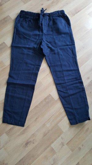 edc by Esprit Linnen broek donkerblauw