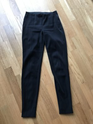 Marc Cain Stretch broek donkerblauw