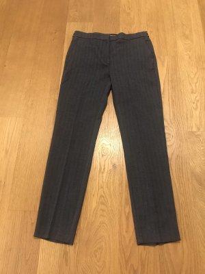 Zara Pantalone peg-top blu scuro-grigio ardesia