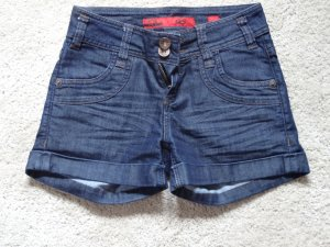 Dunkelblaue Hotpants