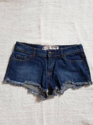 dunkelblaue Hotpants Denim Co Gr. 36 S