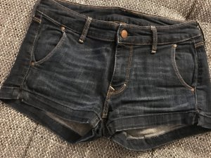 dunkelblaue Hotpants  H&M, Größe 34