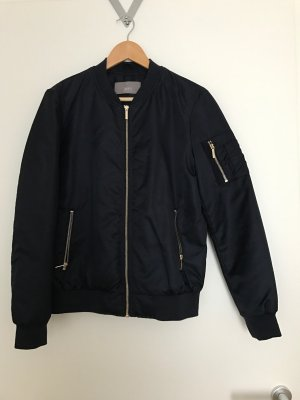 Jake*s Bomber Jacket dark blue polyamide