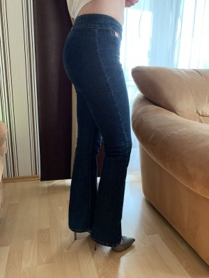 Miss Sixty Hoge taille jeans donkerblauw