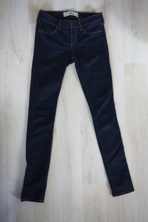 Dunkelblaue Jeans Hollister