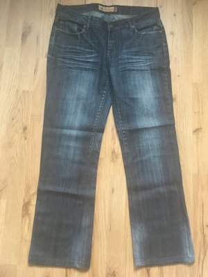 Fishbone Jeans dark blue