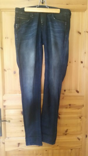 Dunkelblaue Jeans in Slim fit