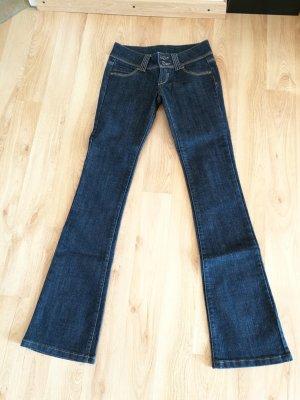 Dunkelblaue Jeans in XS