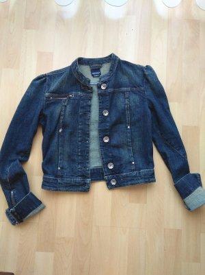 Dunkelblaue Jeans Jacke von Miss Sixty Gr. M