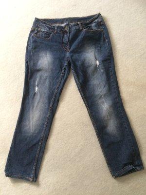 dunkelblaue Jeans mit Cuttings von Cecil - Arizona - Size 31 - Gr. 40