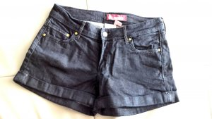H&M Denim Shorts dark blue cotton