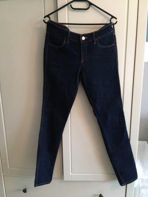 Dunkelblaue Jeans Skinny