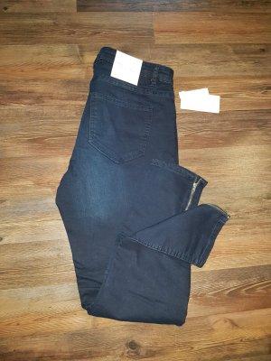 Dunkelblaue Jeans - Super Stretch Skinny - Gr. 44 - Neu mit Etikett