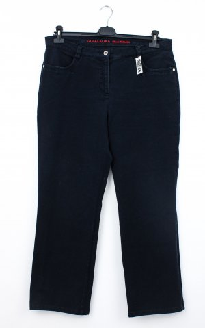 Gina Laura Stretch Jeans dark blue cotton