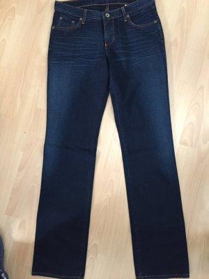 Dunkelblaue Jeans von MAC in Größe 31/34