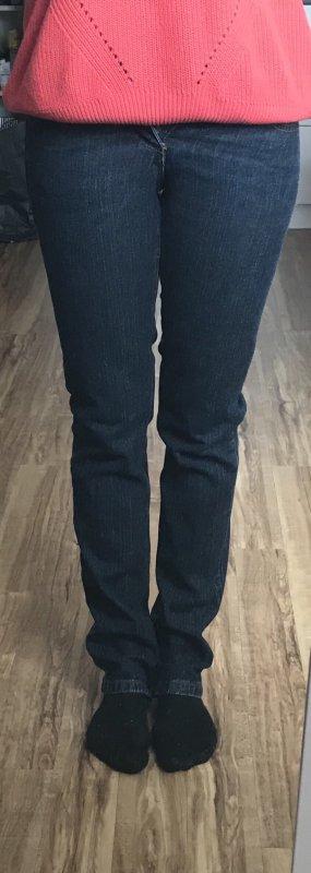 Melrose Jeans cigarette bleu-bleu foncé