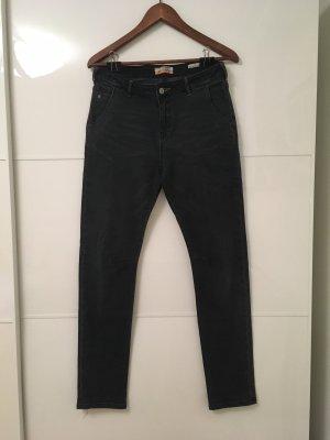 Scotch R'Belle Jeans taille haute bleu foncé