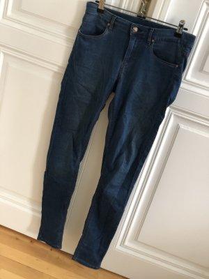 Dunkelblaue Jeans von Topshop