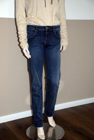 Dunkelblaue Jeans von Zara Basics