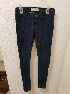 Zara Trafaluc Jeans skinny blu Cotone
