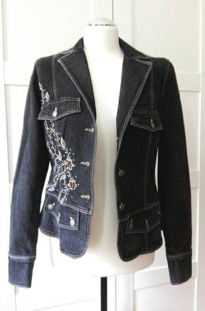 dunkelblaue Jeansjacke von Biba