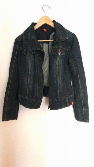 dunkelblaue Jeansjacke von Esprit