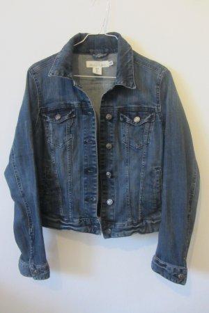 dunkelblaue Jeansjacke von H&M, 36