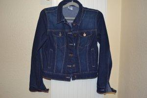 Dunkelblaue Jeansjacke von Vero Moda
