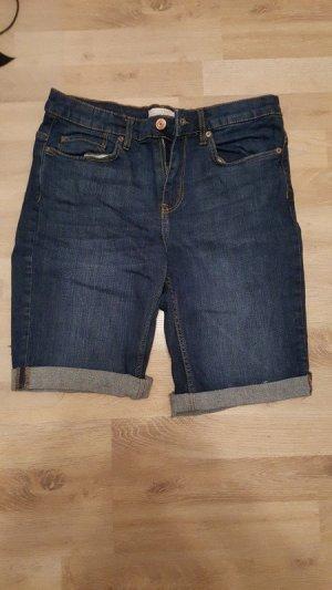 Dunkelblaue Jeansshort von H&M