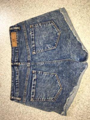 Amisu Pantaloncino di jeans multicolore