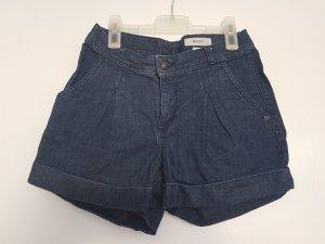Dunkelblaue Jeansshorts von H&M