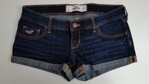 Dunkelblaue Jeansshorts von Hollister