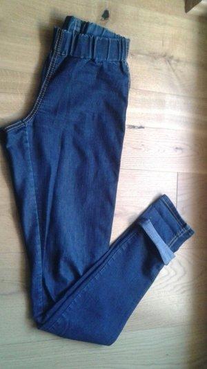 Dunkelblaue Jeggings / Skinny Jeans von H&M