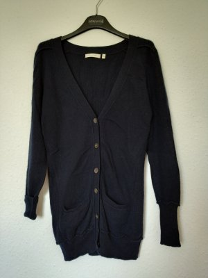 (The Mercer) NY Cardigan dark blue cashmere
