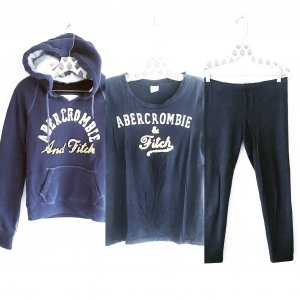 Abercrombie & Fitch Legging donkerblauw
