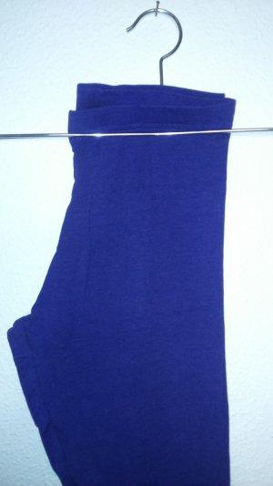 dunkelblaue Leggings