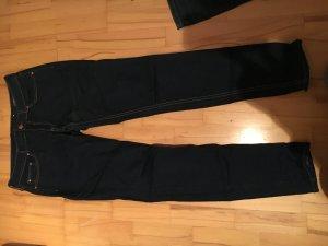 Dunkelblaue Mango Jeans